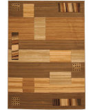 RugStudio presents 828 Laguna Collection LG25 Cream/Green Machine Woven, Good Quality Area Rug