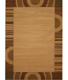 RugStudio presents 828 Laguna Collection LG28 Ivory/Brown Machine Woven, Good Quality Area Rug