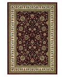 RugStudio presents 828 Greenville Collection 1-1004-01 Red with Ivory Border Machine Woven, Good Quality Area Rug
