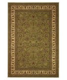 RugStudio presents 828 Greenville 1-1004-31 Sage with Antique Ivory Border Machine Woven, Good Quality
