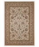 RugStudio presents 828 Greenville Collection 1-1004-70 Ivory with Ivory Border Machine Woven, Good Quality Area Rug