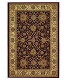 RugStudio presents 828 Greenville Collection 1-1005-05 Burgandy Machine Woven, Good Quality Area Rug