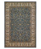 RugStudio presents 828 Greenville 1-1023-42 Light Blue with Ivory Border Machine Woven, Good Quality