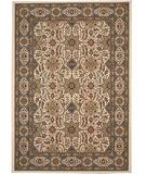RugStudio presents 828 Greenville Collection 1-1040-70 Ivory with Light Blue on Border Machine Woven, Good Quality Area Rug