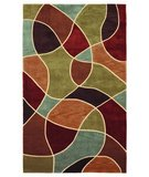 RugStudio presents 828 Mirage Collection 3-0567-99 Multi Hand-Tufted, Good Quality Area Rug