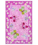 RugStudio presents 828 Accents CCL77 Pink Hand-Hooked Area Rug