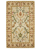 RugStudio presents 828 Ellington Collection EL03 Ivory Hand-Tufted, Good Quality Area Rug