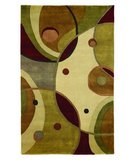 RugStudio presents 828 Himalayan H357 Red/Ivory Hand-Knotted, Better Quality Area Rug