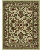 RugStudio presents 828 Rhine Collection RH02 IV Ivory with Ivory Border Machine Woven, Good Quality Area Rug