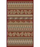 RugStudio presents 828 Rhine Collection RH17 RD Red/Multi Machine Woven, Good Quality Area Rug