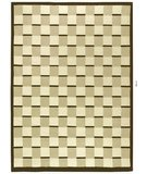 RugStudio presents 828 Tibetan Collection TIB13 Cream Hand-Knotted, Good Quality Area Rug