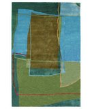 RugStudio presents 828 Tibetan Collection TIB57 Multi Hand-Knotted, Good Quality Area Rug