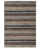 RugStudio presents Addison And Banks Hand Tufted AB14 Nickel-Stone Gray Hand-Tufted, Good Quality Area Rug