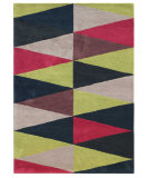 RugStudio presents Addison And Banks Hand Tufted AB29 Dark Ink Blue Hand-Tufted, Good Quality Area Rug