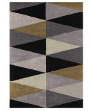 RugStudio presents Addison And Banks Hand Tufted AB30 Stone Gray Hand-Tufted, Good Quality Area Rug