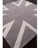 RugStudio presents Addison And Banks Hand Tufted AB41 Medium Gray Hand-Tufted, Good Quality Area Rug