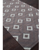 RugStudio presents Addison And Banks Hand Tufted AB49 Liquorice-Slate Gray Hand-Tufted, Good Quality Area Rug