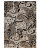 RugStudio presents Addison And Banks Hand Tufted AB61 White Hand-Tufted, Good Quality Area Rug