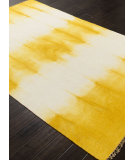 RugStudio presents Addison And Banks Flat Weave Abr0740 Bright Yellow Flat-Woven Area Rug