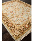 RugStudio presents Addison And Banks Hand Knotted Abr0745 Ice Blue Hand-Knotted, Best Quality Area Rug