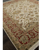 RugStudio presents Addison And Banks Hand Knotted Abr0746 Dark Ivory Hand-Knotted, Best Quality Area Rug