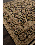 RugStudio presents Addison And Banks Hand Knotted Abr0747 Ebony Hand-Knotted, Best Quality Area Rug