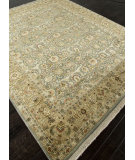 RugStudio presents Addison And Banks Hand Knotted Abr0751 Medium Blue Hand-Knotted, Good Quality Area Rug
