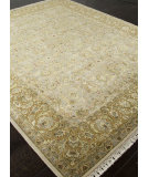 RugStudio presents Addison And Banks Hand Knotted Abr0752 Medium Ivory Hand-Knotted, Good Quality Area Rug