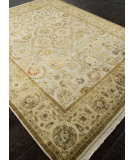 RugStudio presents Addison And Banks Hand Knotted Abr0753 Medium Ivory Hand-Knotted, Good Quality Area Rug
