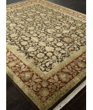 RugStudio presents Addison And Banks Hand Knotted Abr0755 Cocoa Brown Hand-Knotted, Good Quality Area Rug