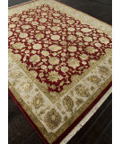 RugStudio presents Addison And Banks Hand Knotted Abr0756 Medium Red Hand-Knotted, Good Quality Area Rug