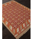 RugStudio presents Addison And Banks Flat Weave Abr0758 Mars Red Flat-Woven Area Rug