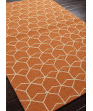 RugStudio presents Rugstudio Sample Sale 81980R Red Orange Hand-Hooked Area Rug