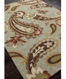 RugStudio presents Addison And Banks Hand Hooked Abr0027 Fog Hand-Hooked Area Rug