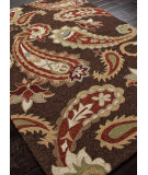 RugStudio presents Addison And Banks Hand Hooked Abr0028 Cocoa Brown Hand-Hooked Area Rug