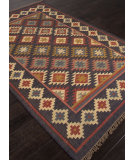 RugStudio presents Addison And Banks Flat Weave Abr0760 Ebony Flat-Woven Area Rug