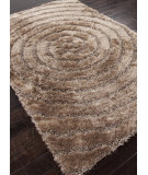 RugStudio presents Addison And Banks Shag Abr0045 Taupe Area Rug