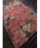 RugStudio presents Addison And Banks Hand Tufted Abr0057 Cocoa Brown / Red Ochre Hand-Tufted, Best Quality Area Rug