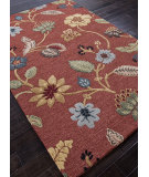 RugStudio presents Addison And Banks Hand Tufted Abr0058 Navajo Red / Marigold Hand-Tufted, Best Quality Area Rug