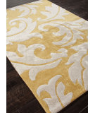 RugStudio presents Rugstudio Sample Sale 82038R Golden Apricot / Antique White Hand-Tufted, Best Quality Area Rug