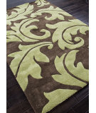 RugStudio presents Addison And Banks Hand Tufted Abr0061 Java / Oasis Green Hand-Tufted, Best Quality Area Rug