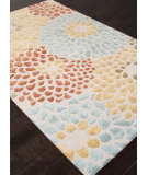 RugStudio presents Addison And Banks Hand Tufted Abr0785 White Hand-Tufted, Good Quality Area Rug