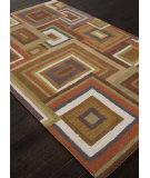 RugStudio presents Addison And Banks Hand Tufted Abr0786 Medium Gold Hand-Tufted, Good Quality Area Rug