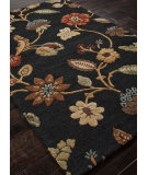 RugStudio presents Addison And Banks Hand Tufted Abr0062 Ebony Hand-Tufted, Best Quality Area Rug