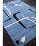 RugStudio presents Addison And Banks Hand Tufted Abr0067 Aegean Blue Hand-Tufted, Best Quality Area Rug