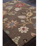 RugStudio presents Addison And Banks Hand Tufted Abr0075 Cocoa Brown Hand-Tufted, Best Quality Area Rug
