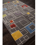 RugStudio presents Addison And Banks Hand Tufted Abr0080 Liquorice Hand-Tufted, Best Quality Area Rug