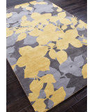 RugStudio presents Addison And Banks Hand Tufted Abr0084 Liquorice / Golden Apricot Hand-Tufted, Best Quality Area Rug