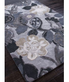 RugStudio presents Addison And Banks Hand Tufted Abr0085 Grey/Blue Hand-Tufted, Best Quality Area Rug