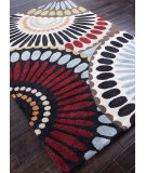RugStudio presents Addison And Banks Hand Tufted Abr0086 Ebony / Antique White Hand-Tufted, Best Quality Area Rug